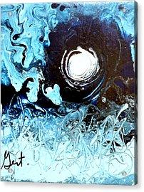 Fool Moon Acrylic Print