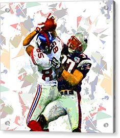 Acrylic Print featuring the painting Football 116 by Movie Poster Prints