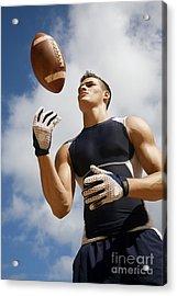 Football Athlete I Acrylic Print by Kicka Witte - Printscapes