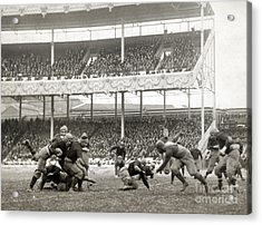 Football Game, 1916 Acrylic Print by Granger