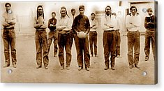 Football, Sioux Native American Acrylic Print by Everett