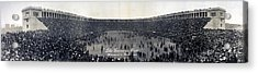 Football, The Game Is Over Panorama Acrylic Print