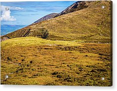 Foothill Of The Macgillycuddy's Reeks In Kerry Ireland Acrylic Print by Semmick Photo