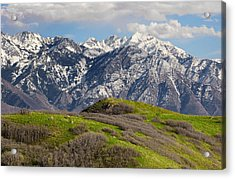 Foothills Above Salt Lake City Acrylic Print