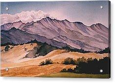 Foothills Acrylic Print