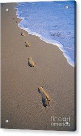 Footprints Acrylic Print by Don King - Printscapes
