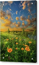 For A Moment All The World Was Right Acrylic Print