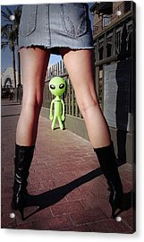 For Alien Eyes Only Acrylic Print