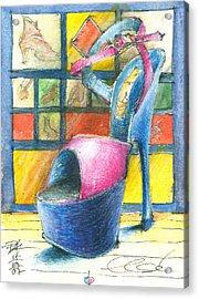 For Else Acrylic Print by Joerg Bernhard Klemmer