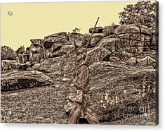 For Ever Watch At Devils Den Acrylic Print by Tommy Anderson