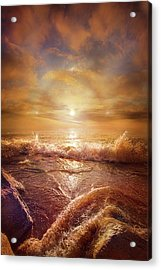 For Everything Give Thanks Acrylic Print by Phil Koch