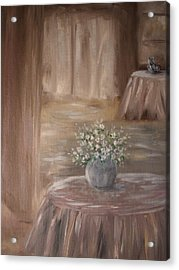For Her Acrylic Print by Carrie Mayotte