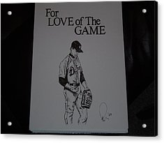 For Love Of The Game Acrylic Print by Raymond Nash