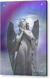 For My Lord And God Acrylic Print by Jean Gugliuzza