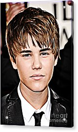 For The Belieber In You Acrylic Print by The DigArtisT