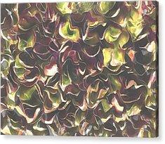 For The Love Of Autumn Acrylic Print by Tracey Harrington-Simpson
