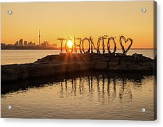 For The Love Of Toronto Acrylic Print