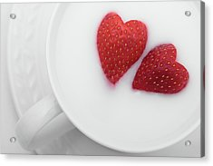 Acrylic Print featuring the photograph For Valentine's Day by William Lee