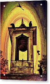 For Whom The Bell Tolls Acrylic Print by Bill Cannon