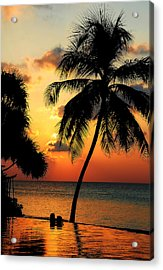 For You. Dream Comes True. Maldives Acrylic Print by Jenny Rainbow