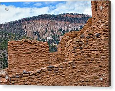 Forbidding Cliffs Acrylic Print by Alan Toepfer