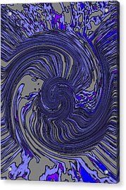 Force Of Nature Acrylic Print by Tim Allen
