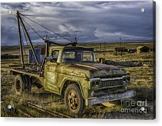 Ford 1958 - F-series Pickup  Acrylic Print