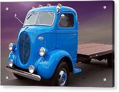 Ford Coe Flatbed Acrylic Print