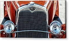 Acrylic Print featuring the photograph Ford Coupe by Brad Allen Fine Art