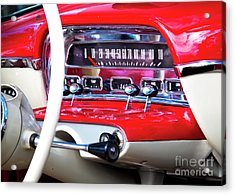 Acrylic Print featuring the photograph Ford Dash by Chris Dutton