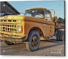 Ford F-150 Dump Truck Acrylic Print