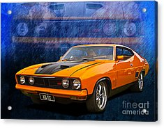Ford Falcon Xb 351 Gt Coupe Acrylic Print