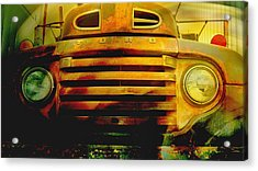 Ford Grill Acrylic Print