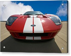 Ford Gt Acrylic Print by Peter Tellone