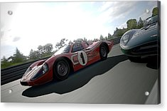 Ford Gt40 Mark Iv Acrylic Print