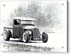Ford Hot Rod Acrylic Print by Athena Mckinzie