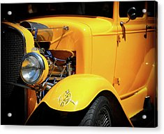 Acrylic Print featuring the photograph Ford Hot-rod by Jeremy Lavender Photography