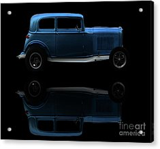 Ford Hot Rod Reflection Acrylic Print