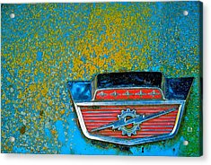 Ford Logo Acrylic Print by Craig Perry-Ollila