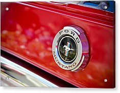 Ford Mustang Acrylic Print by April Reppucci