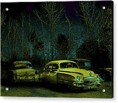 Ford-o-matic And Friends Acrylic Print by David A Brown