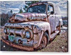 Ford Panel Truck Acrylic Print