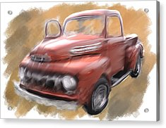 Ford Tough Acrylic Print by Davina Washington