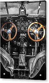 Ford Trimotor Cockpit Acrylic Print