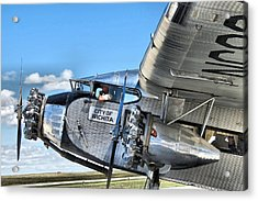 Ford Trimotor Acrylic Print by Michael Daniels