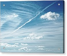 Acrylic Print featuring the photograph Forecast ...breezy by Tom Druin