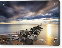 Forecast Calls For Cloudy Skies Acrylic Print