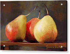 Forelle Trio Acrylic Print by Jeanne Rosier Smith