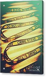 Forensic Csi Lab Details Acrylic Print by Jorgo Photography - Wall Art Gallery