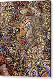 Foreshadowing Of The Amazon Acrylic Print by Andrew Osta
